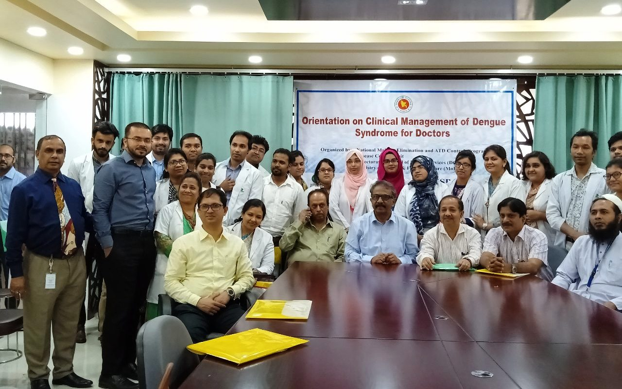 Orientation on Clinical Management of Dengue Syndroms of Doctors